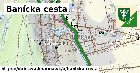 ilustrácia k Banícka cesta, Dúbrava, okres LM - 2,0km