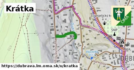 ilustrácia k Krátka, Dúbrava, okres LM - 145m