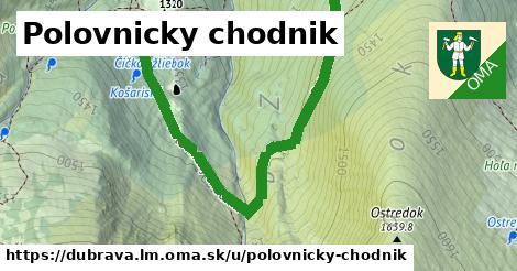 ilustrácia k Polovnicky chodnik, Dúbrava, okres LM - 8,2km