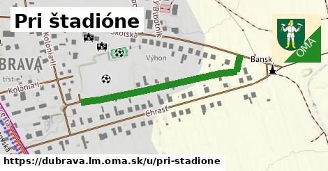 ilustrácia k Pri štadióne, Dúbrava, okres LM - 395m