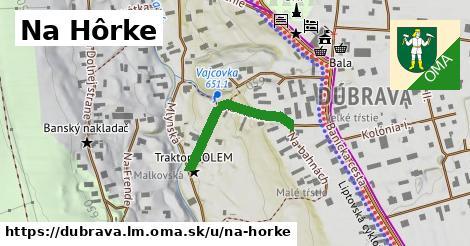ilustrácia k Na Hôrke, Dúbrava, okres LM - 234m