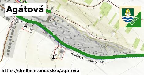 ilustrácia k Agátová, Dudince - 0,91km