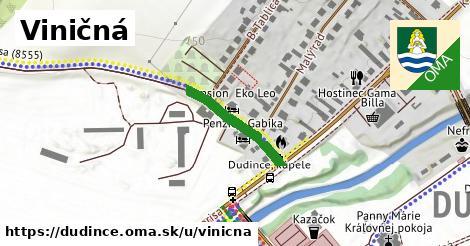 ilustrácia k Viničná, Dudince - 197m