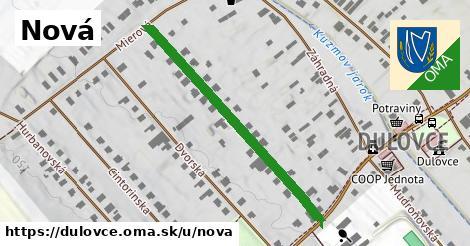 ilustračný obrázok k Nová, Dulovce