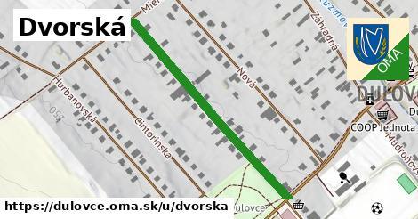 ilustrácia k Dvorská, Dulovce - 431m