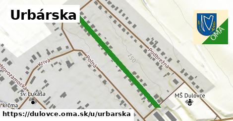 ilustrácia k Urbárska, Dulovce - 404m