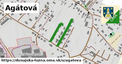 ilustrácia k Agátová, Dunajská Lužná - 239m