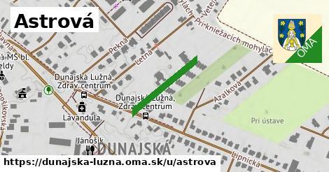 ilustrácia k Astrová, Dunajská Lužná - 348m