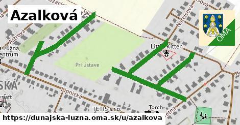 ilustrácia k Azalková, Dunajská Lužná - 250m