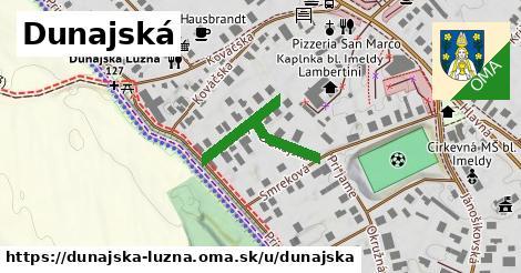 ilustrácia k Dunajská, Dunajská Lužná - 254m