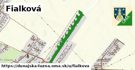 ilustrácia k Fialková, Dunajská Lužná - 694m