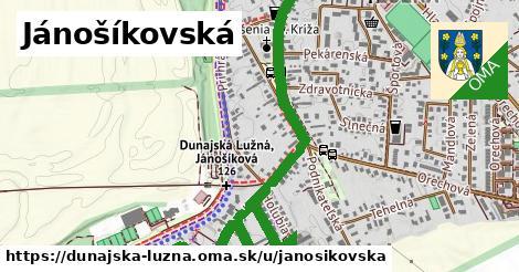 ilustrácia k Janošíkovská, Dunajská Lužná - 1,40km