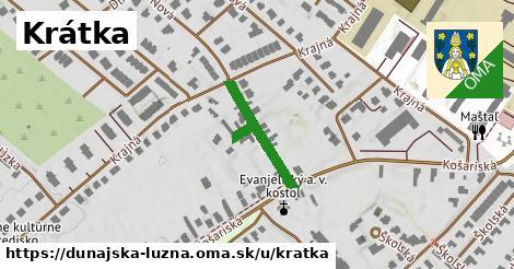 ilustrácia k Krátka, Dunajská Lužná - 182m