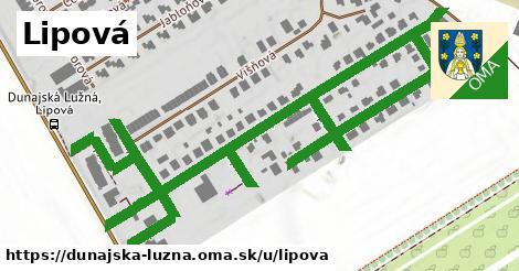 ilustrácia k Lipová, Dunajská Lužná - 1,00km