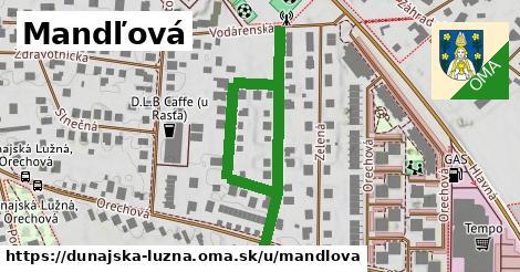 ilustrácia k Mandľová, Dunajská Lužná - 598m