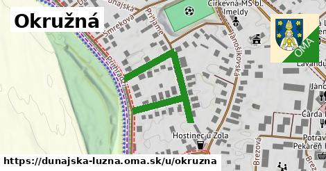 ilustrácia k Okružná, Dunajská Lužná - 391m