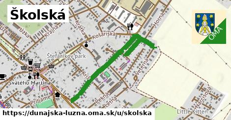 ilustrácia k Školská, Dunajská Lužná - 0,76km