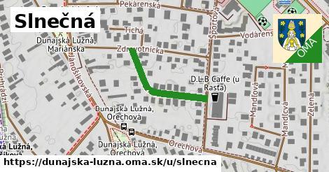 ilustrácia k Slnečná, Dunajská Lužná - 239m