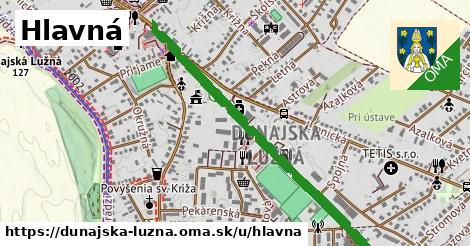 ilustrácia k Hlavná, Dunajská Lužná - 1,97km