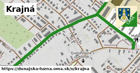 ilustrácia k Krajná, Dunajská Lužná - 584m