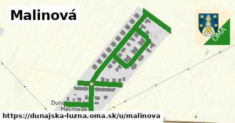 ilustrácia k Malinová, Dunajská Lužná - 0,97km