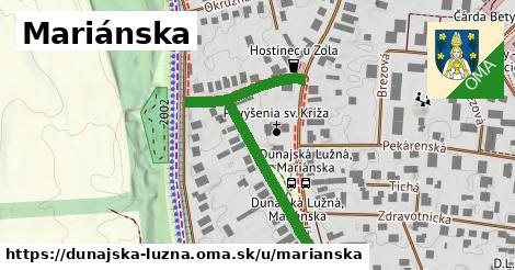 ilustrácia k Mariánska, Dunajská Lužná - 431m