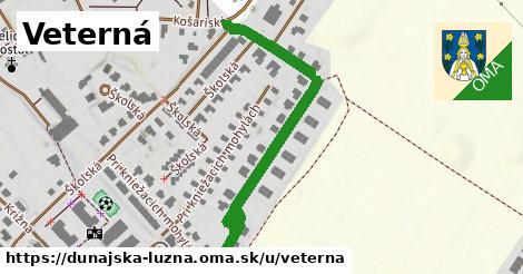 ilustrácia k Veterná, Dunajská Lužná - 296m