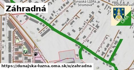 ilustrácia k Záhradná, Dunajská Lužná - 1,03km