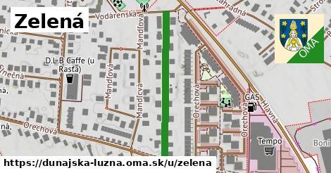 ilustrácia k Zelená, Dunajská Lužná - 341m
