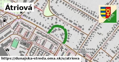 ilustrácia k Átriová, Dunajská Streda - 221m