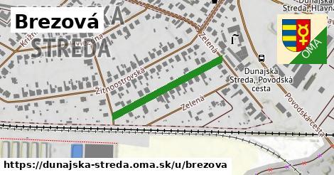 ilustrácia k Brezová, Dunajská Streda - 279m