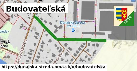 ilustrácia k Budovateľská, Dunajská Streda - 452m