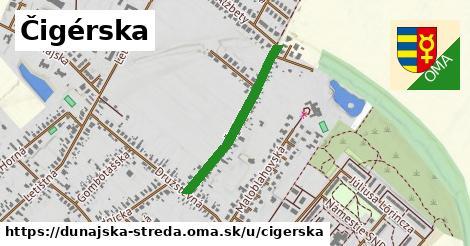 ilustrácia k Čigérska, Dunajská Streda - 506m