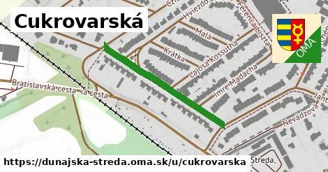 ilustrácia k Cukrovarská, Dunajská Streda - 327m