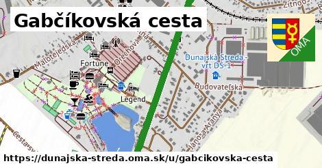 ilustračný obrázok k Gabčíkovská cesta, Dunajská Streda