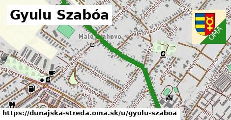 ilustračný obrázok k Gyulu Szabóa, Dunajská Streda