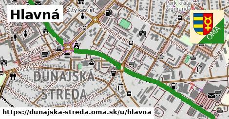 ilustrácia k Hlavná, Dunajská Streda - 1,75km