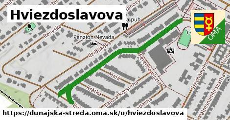 ilustrácia k Hviezdoslavova, Dunajská Streda - 575m
