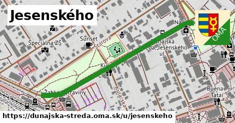 ilustrácia k Jesenského, Dunajská Streda - 628m