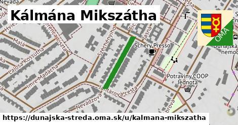 ilustrácia k Kálmána Mikszátha, Dunajská Streda - 186m