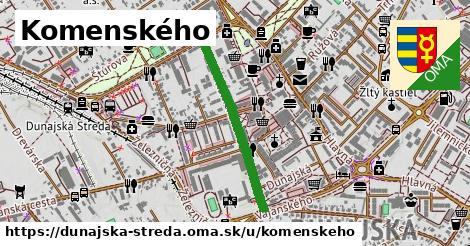 ilustrácia k Komenského, Dunajská Streda - 588m