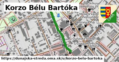 ilustračný obrázok k Korzo Bélu Bartóka, Dunajská Streda