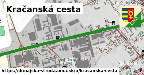 ilustrácia k Kračanská cesta, Dunajská Streda - 1,90km