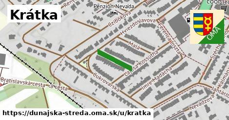 ilustrácia k Krátka, Dunajská Streda - 128m