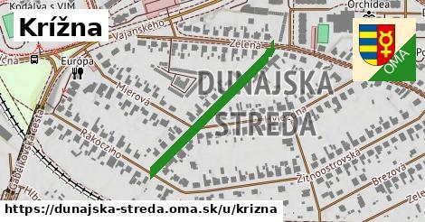ilustrácia k Krížna, Dunajská Streda - 314m