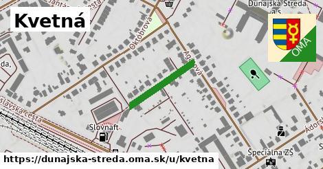 ilustrácia k Kvetná, Dunajská Streda - 183m