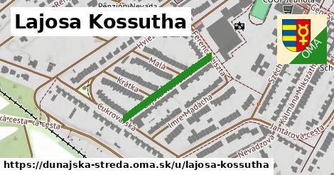 ilustračný obrázok k Lajosa Kossutha, Dunajská Streda