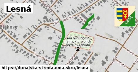 ilustrácia k Lesná, Dunajská Streda - 349m