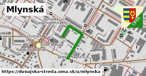 ilustrácia k Mlynská, Dunajská Streda - 602m