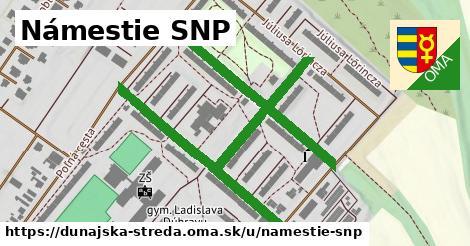 ilustračný obrázok k Námestie SNP, Dunajská Streda